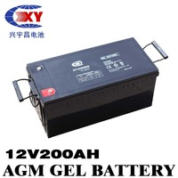sealed maintenance free lead acid battery 12v 200ah lead acid accumulator