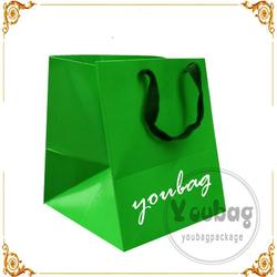 factory directly custom oem red wine paper bag