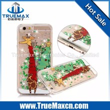 Christmas Discount Phone Case for iPhone 5 5C 5S, Flash Powder Plastic Case for iPhone 5 5C 5S
