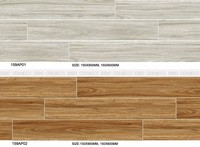150x900/150x600/600x600/600x900 MM Outdoor Usage and Wood Flooring Type Pine wood tile Timber tile with Texture rate R10 159AP01