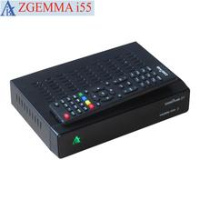 2017 New High Quality ZGEMMA i55 IPTV BOX Fast CPU Dual Core Linux OS Enigma2 SATIP Digital IPTV BOX No Server