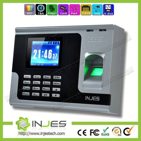 Punch Card Recording Type Time Attendance Machine With RFID