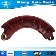 Cast Iron General Use Oil Semi Truck Brake Shoes in Auto Brake Systems