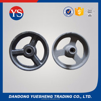 Professional Drawings Machining Customized Cast Iron Flywheel