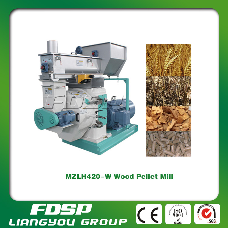 CE approved sawmill waste wood pellet machine price