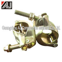 Guangzhou manufacturer steel scaffold pressed double couplers