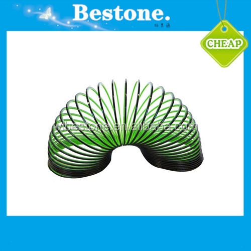 Kids Funny Toys 7.6*6cm Magic Plastic Rainbow Circle Rainbow Slinky Spring with High Quality for Promotional Gifts