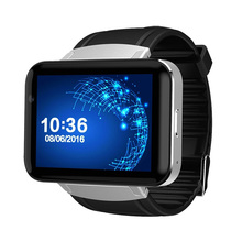 3G smartwatch with front facing camera android wifi watch phone / MTK6572 quad core android 4.4 smart watch 900amh AL6063