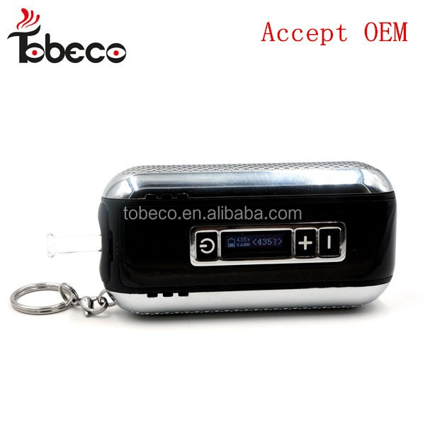 Tobeco Dry Herb E Cig Wholesale China / Dry Herb E-cigarette WITH LED screen dry herb vaporizer