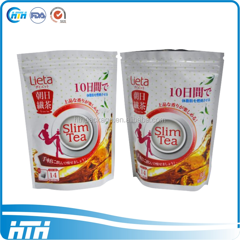 High quality Flat bottom food packing bag/dried food packaging bag