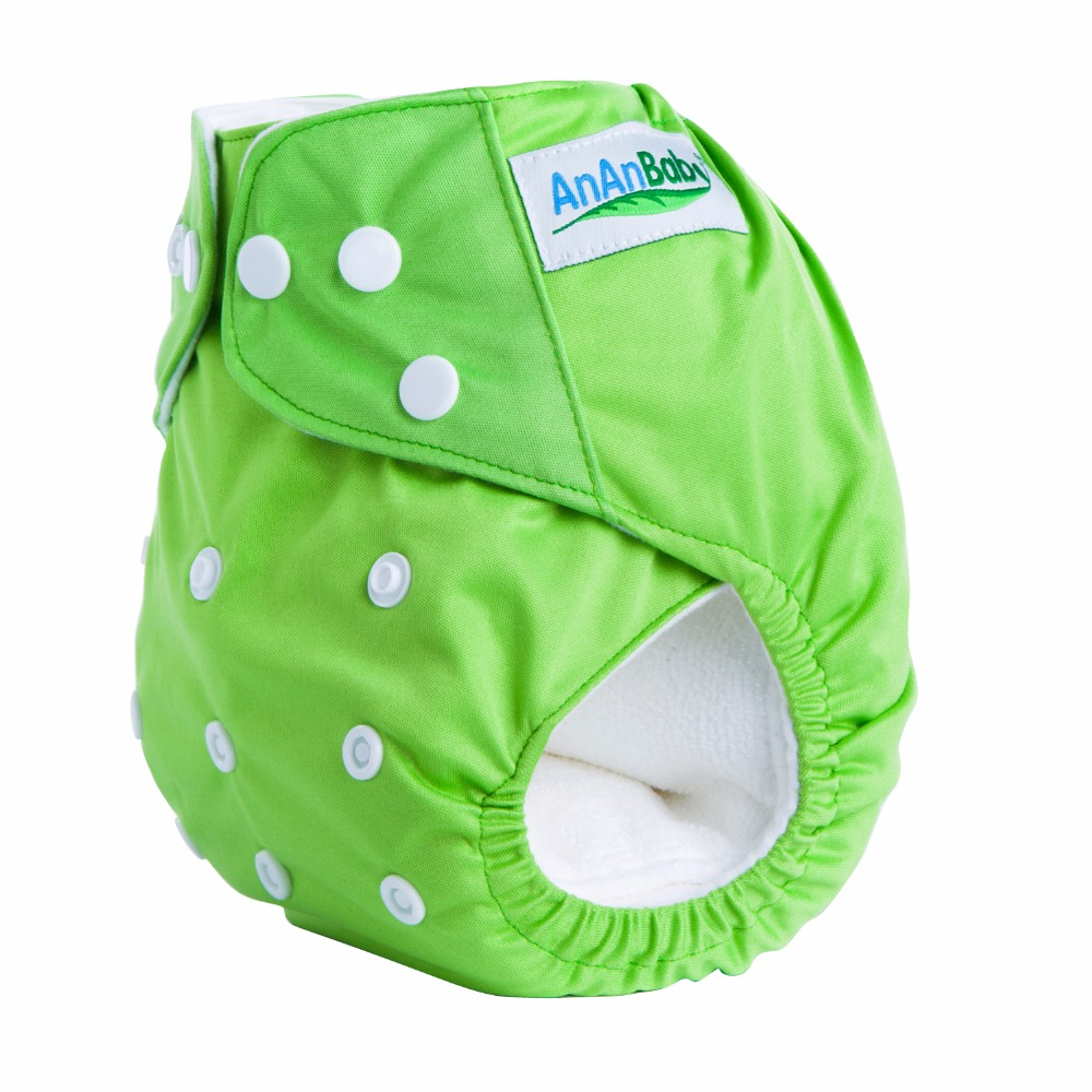 AnAnBaby diaper material waterproof all in one size bulk baby diaper