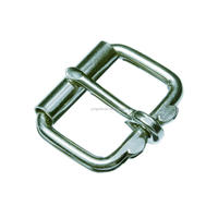 Stainless steel roller buckle for luggage horse strap dog leash