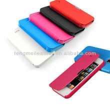 Hot Selling Case For iPhone 5S ,PU Leather Magnetic Clasp Flip Hard Case Cover Pouch Wallet For iPhone 5 5S