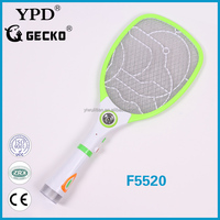 Rechargeable Electronic Mosquito Killer Fly Swatter Zapper Bug Swatter Racket F5520