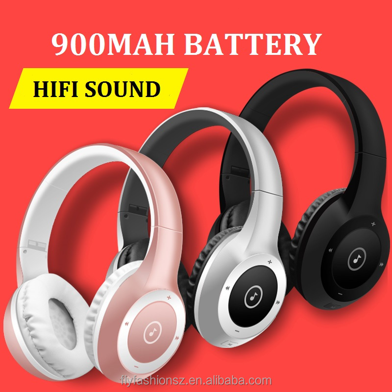 Factory Price mobile stereo bluetooth wireless headphone headsets
