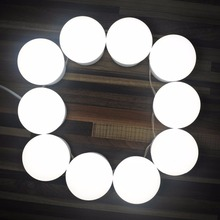2018 Makeup Mirror Lights Hollywood Style LED Vanity Mirror Lights LED Bulbs Kit for Makeup Dressing Table with Touch Dimmer