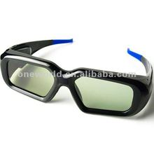 universal cheap 3d active shutter glasses compatible with sharp,samsung,sony 3d hd tv