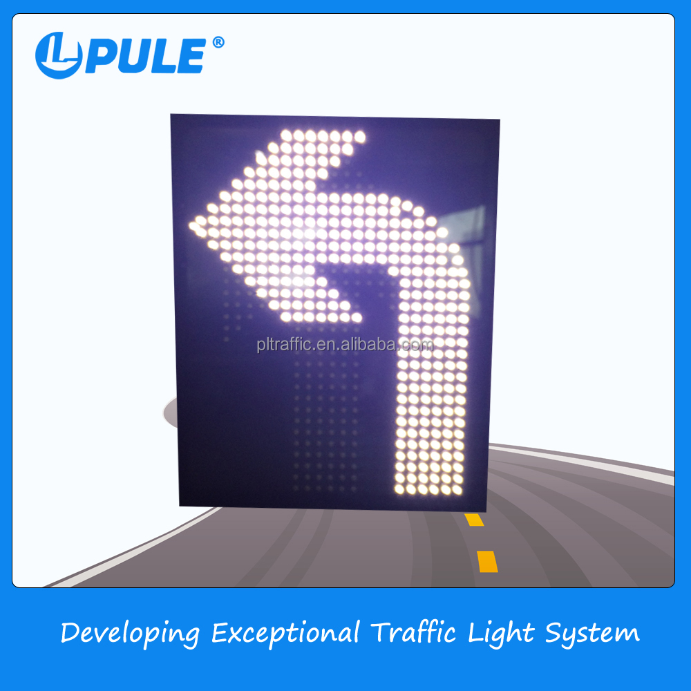 China battery powered led open road safety signs