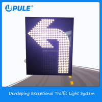 road safety battery powered led open signs