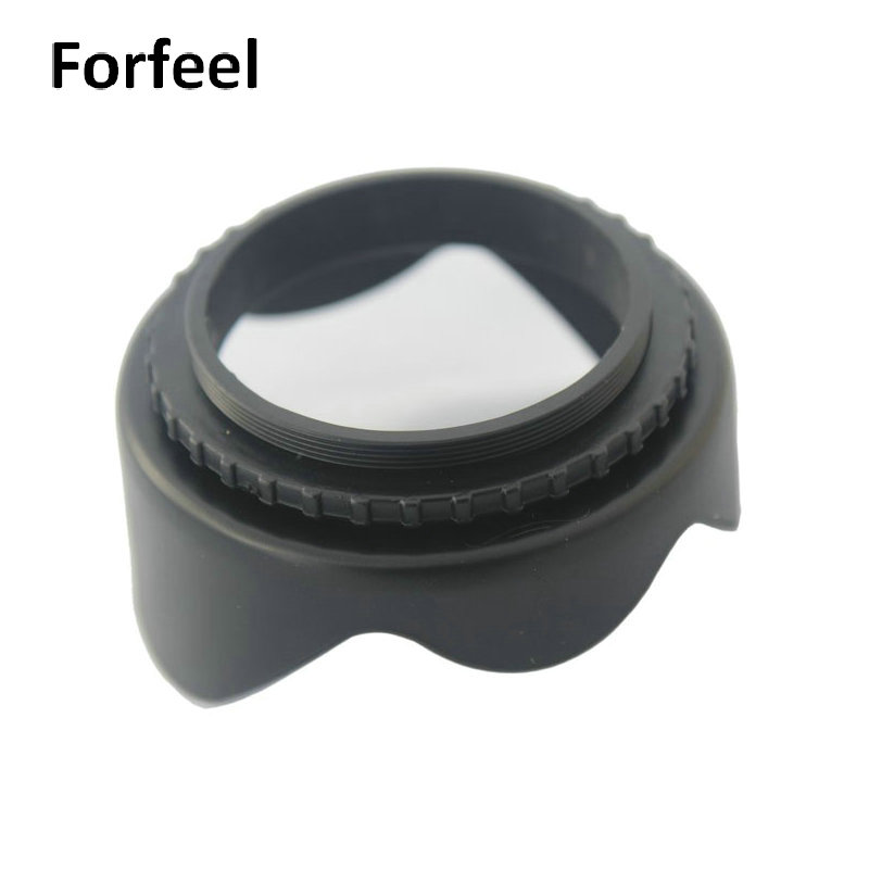 Wholesale Factory price Professional 49-82mm Flower lens hood from china