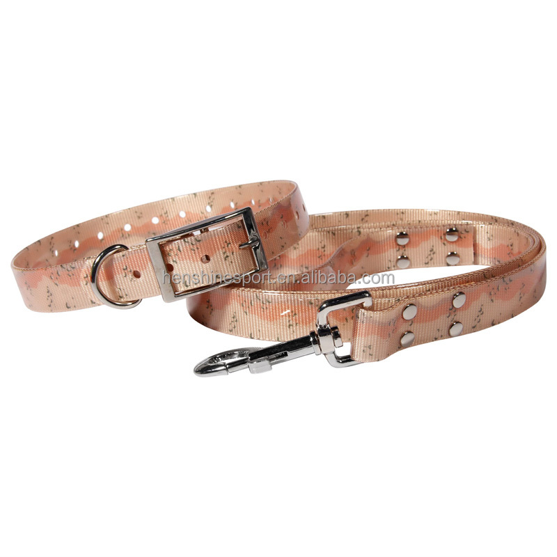 Pet products TPU dog collar Pet accessories dog leash for pet supplier