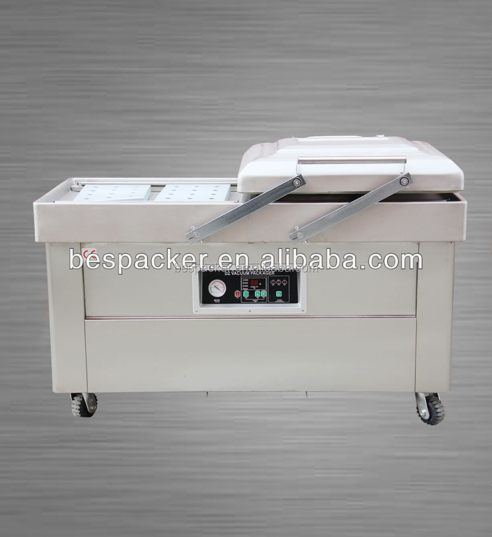 DZ-400/2SB Double chamber vacuum packing machine for sea food,salted meat,dry fish,pork,beef,rice