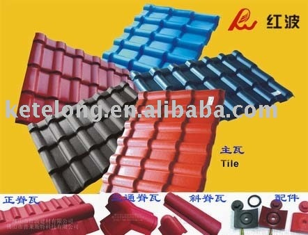 Synthetic Resin Roofing Tile