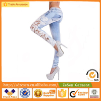 2014 fashion woman skinny jeans lady tight jeans