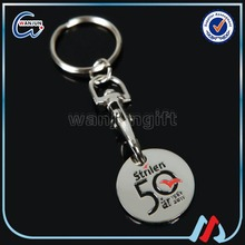 cheap custom shopping cart coin key