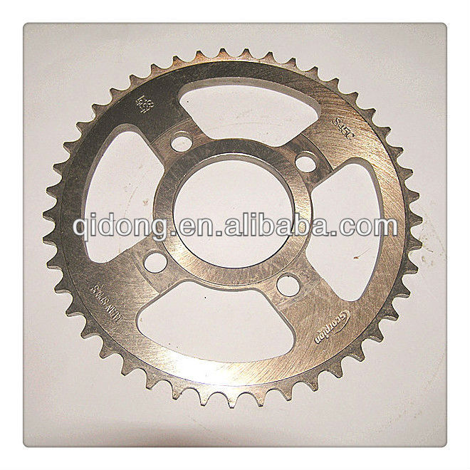 bajaj pulsar 180 motorcycle spare parts/sprocket