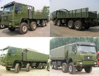 HOWO 8*8 All-wheel Drive Military Series