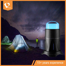 Outdoor Sports Bluetooth Speaker with camping lantern, Insect Lamp
