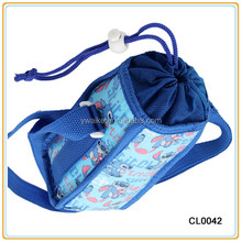 2014 Insulated Milk Bottle drawstring Bag for baby