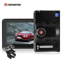 2017 Newest Portable Android 4.4.2 Vehicle GPS Navigation Truck Car GPS Navigator with 16GB AVIN Tablet PC Car Radar Detector