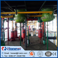 fully continuous waste tyre /waste plastic / waste rubber pyrolysis plant