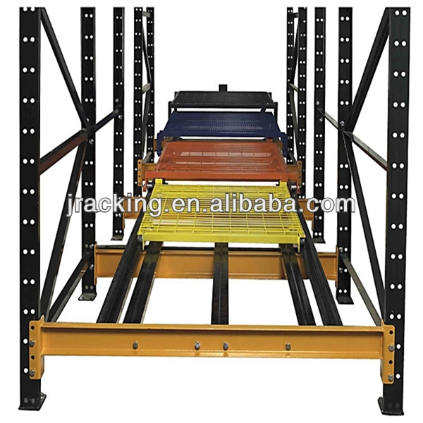 2014best decorative metal banding Best sale quality push back racking