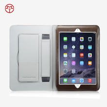 Wholesale Stand Leather Smart Cover Case For iPad 6 Air 2 PU Leather flip fold cover