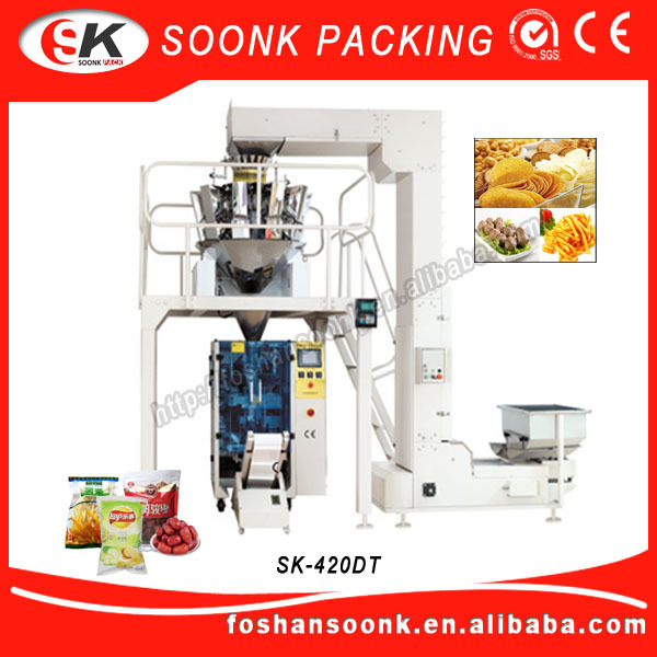 (SK-420DT) Best-selling elegant design Sachet 1Kg Automatic Sugar Packing Machine