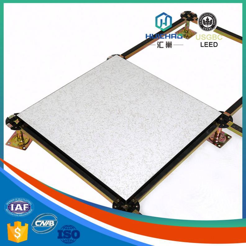 HPL Ultra-light good flatness affordable high strength aluminum honeycomb antistatic raised floor