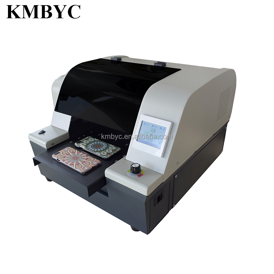 The kmbyc DX8 mini uv led printer 168-a4uv digital phone case / it have the great print effect in china