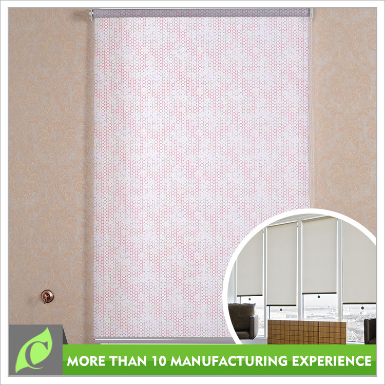 2016 fashion design Natural look Window use double roller blinds