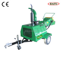 Electric Start China 40HP Power Engine Wood Chipper