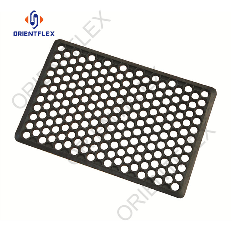 Superior thick high / low temperature resistance anti slip rubber flooring maker
