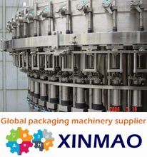 factory turnkey Carbonated Beverage Filling Machine / Production Line /soft drinks warming machine
