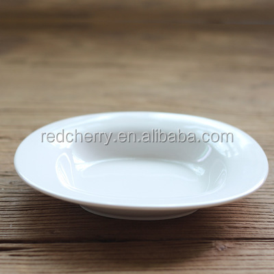 Creative pure western food plate of pasta straw hat disc ceramic 0 home the fruit salad plate printing logo
