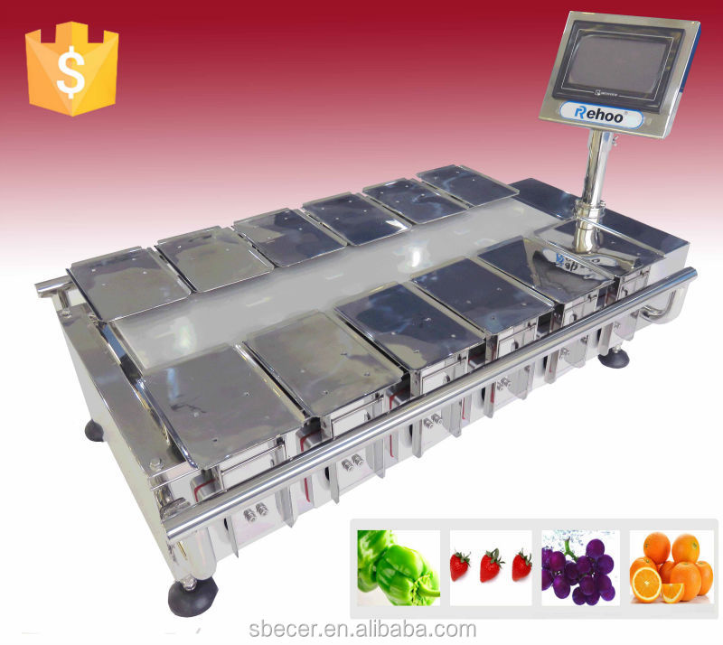 Semi-automatic combination weigher