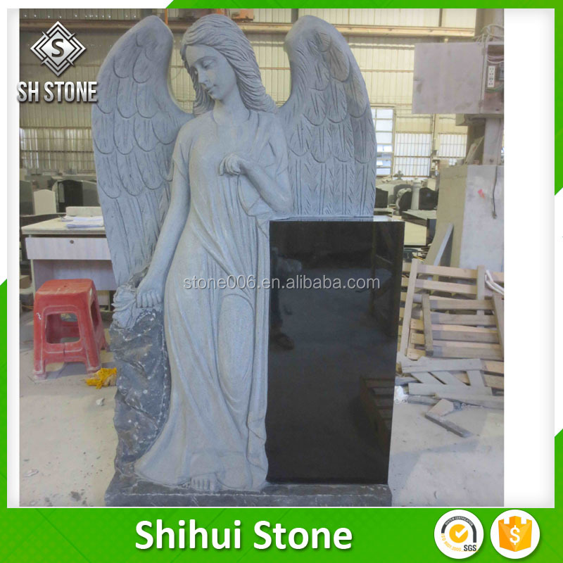 Heart/angel gravestone and monuments headstones/tombstone with good price