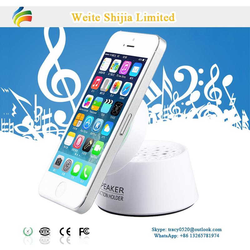 Mini Rechargeable Speaker with Phone Holder