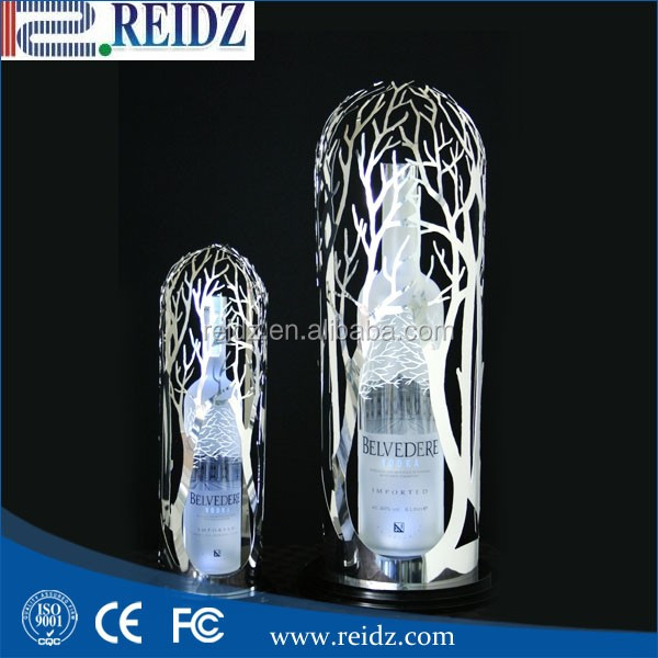 2016 factory cheap price custom various led lighted wine display