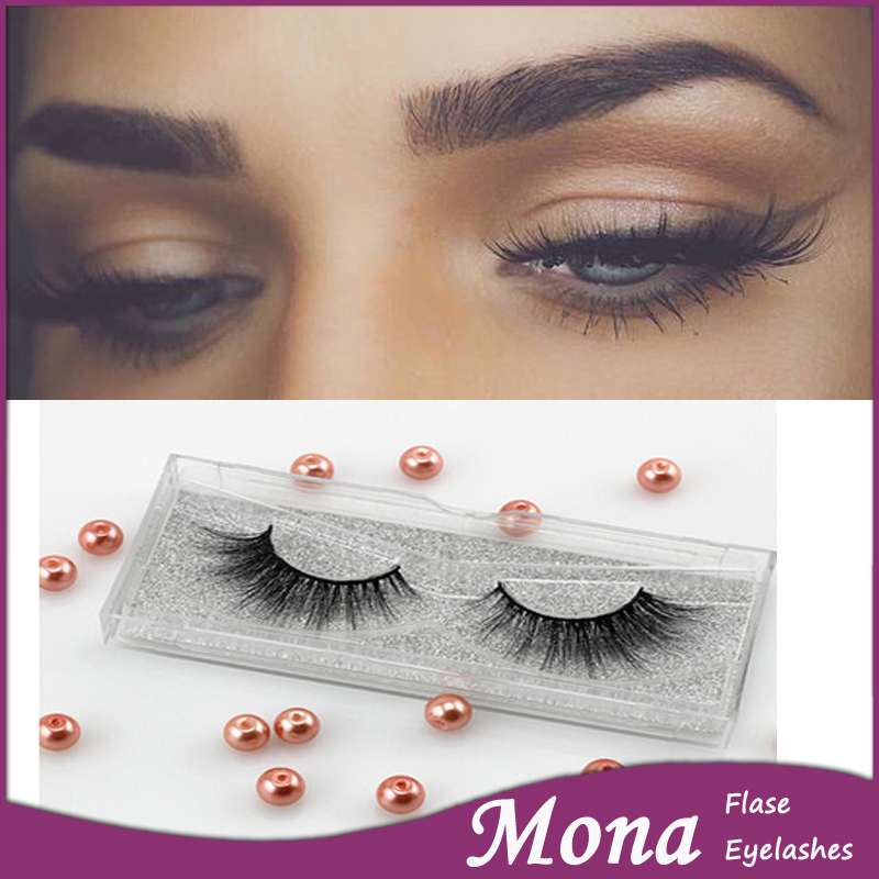 Mona brand high grade eyelashes and eyebrows